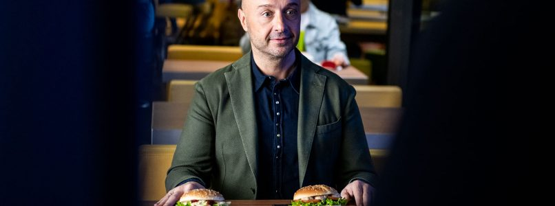 We ate the new My Selection with Bastianich (dreaming of a glass of wine)