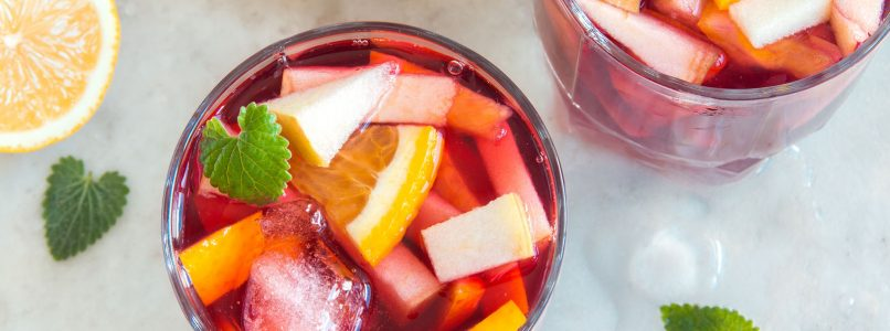 Which wine is used to make sangria?