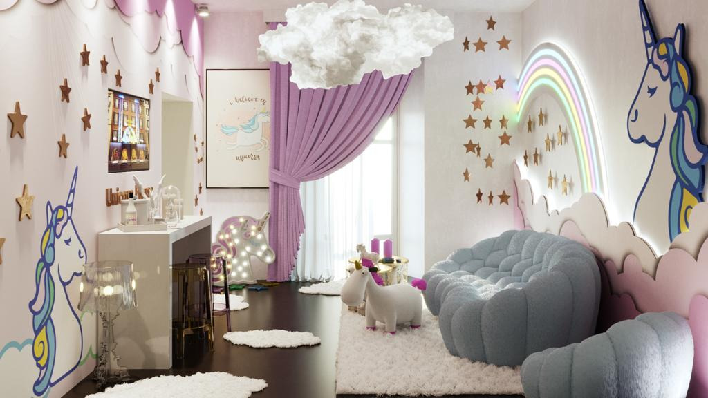 Unicorn House in Milan (photo from Booking.com).