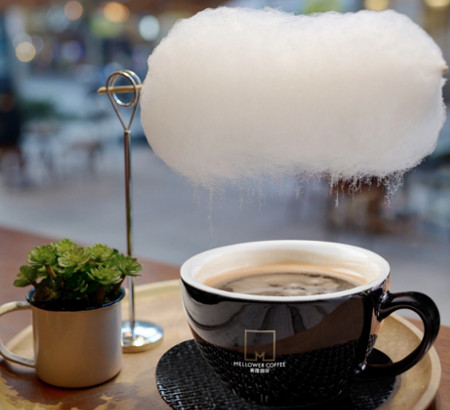 Sweet Little Rain: coffee with the cloud of cotton candy