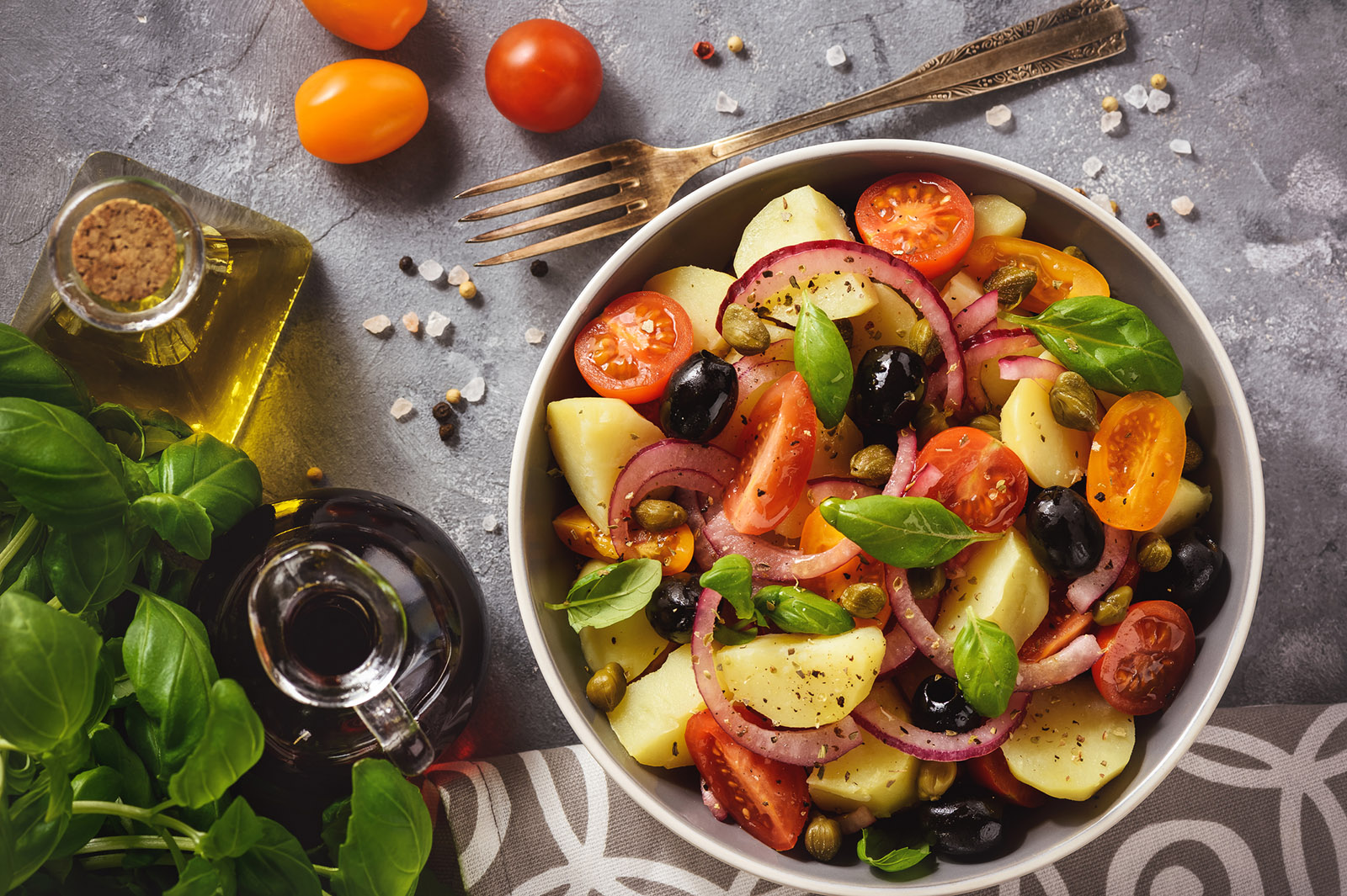 recipe and lots of tips to make this salad ready