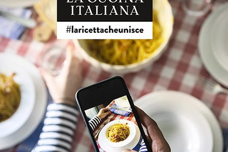 takes part in the challenge of La Cucina Italiana
