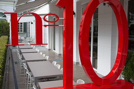 the new restaurant by Alessandro Del Piero