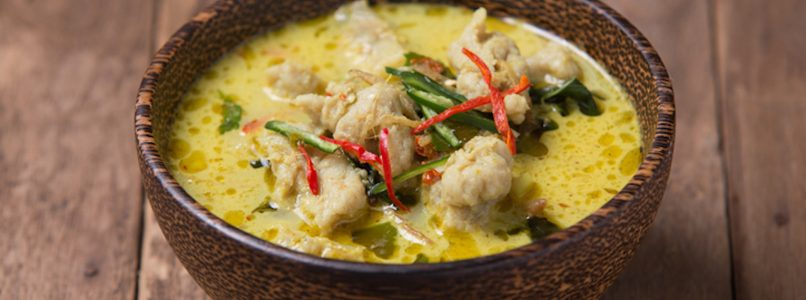 the recipe and the tips for making thai chicken