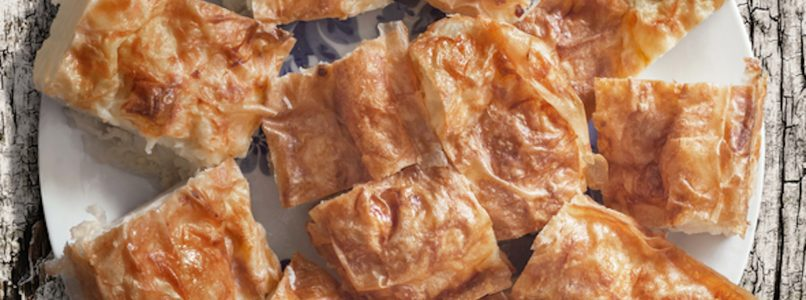 the savory pie that is prepared in an instant
